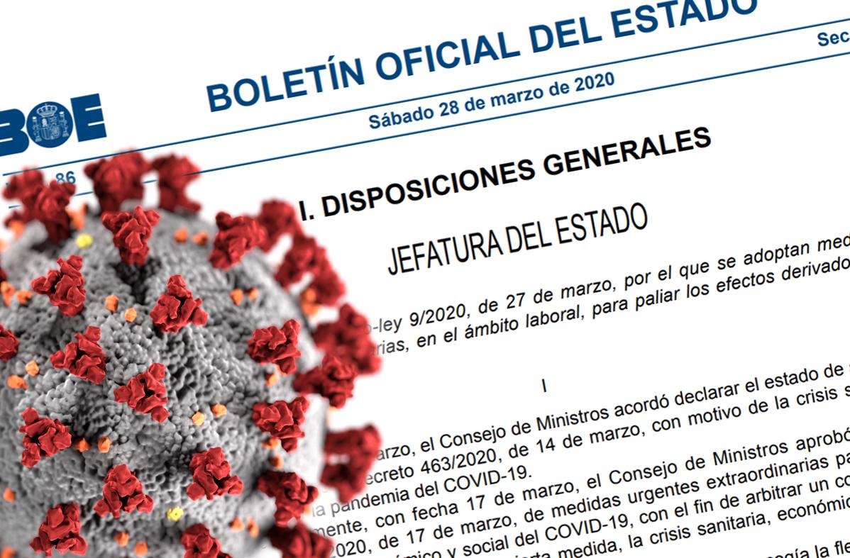 Análisis al Real Decreto-ley 9/2020