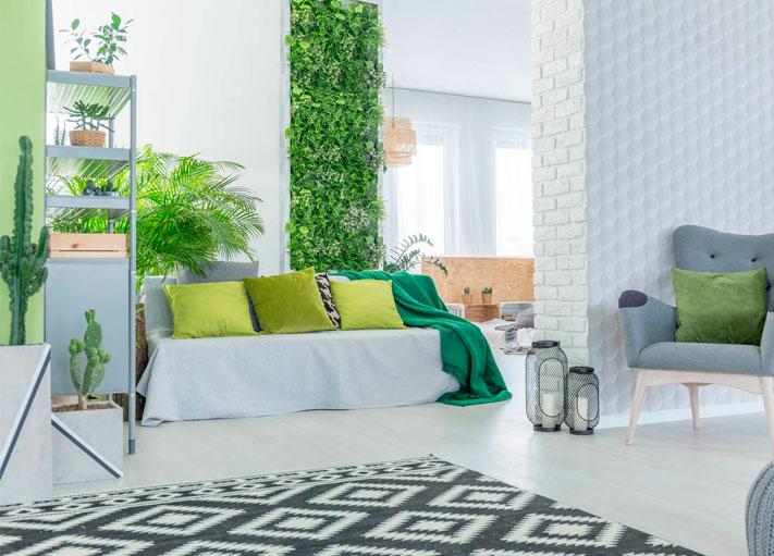 10 grandes ideas para los jardines verticales del hogar