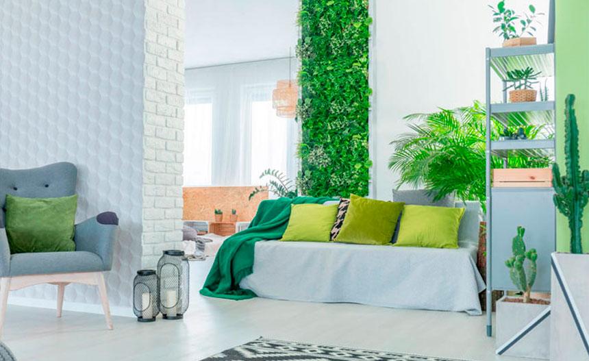 9 grandes ideas para crear un jardín vertical en el hogar
