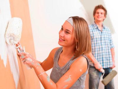 Los errores que debes evitar cometer al pintar las paredes