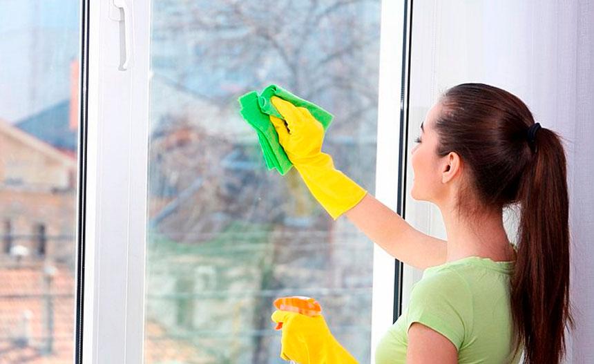Trucos para la de limpieza de ventanas
