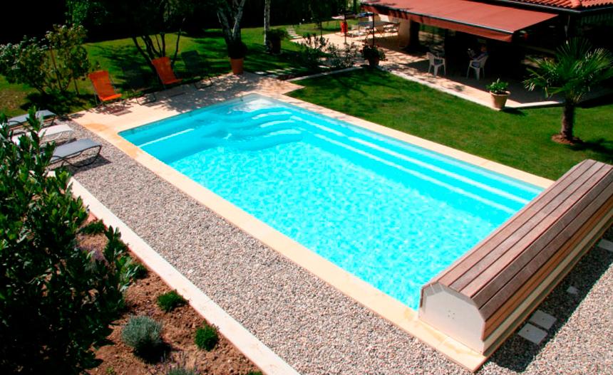 ¿Cuál es la tendencia en formas de piscina 2021?
