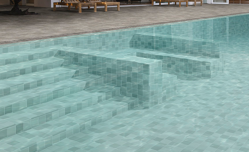 Renovación del revestimiento de la piscina
