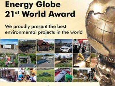 Energy Globe presentó los mejores proyectos medioambientales para nuestra Tierra