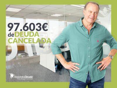 Repara tu Deuda cancela 97.603€ con deuda pública en Zaragoza (Aragón) con la Ley de la Segunda Oportunidad