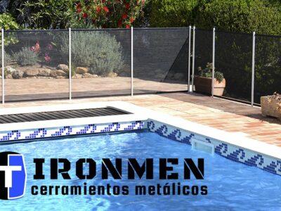Este verano, poner una valla en la piscina y proteger a la familia. Por Cerramientos IRONMEN