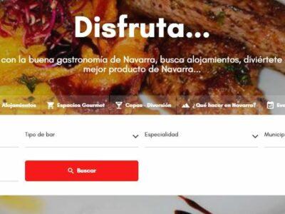 «Comer muy bien» el buscador de restaurantes y alojamientos en Navarra