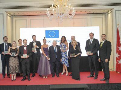 La Sociedad Europea de Fomento Social y Cultural concede el Premio Europeo al Liderazgo y Éxito Empresarial
