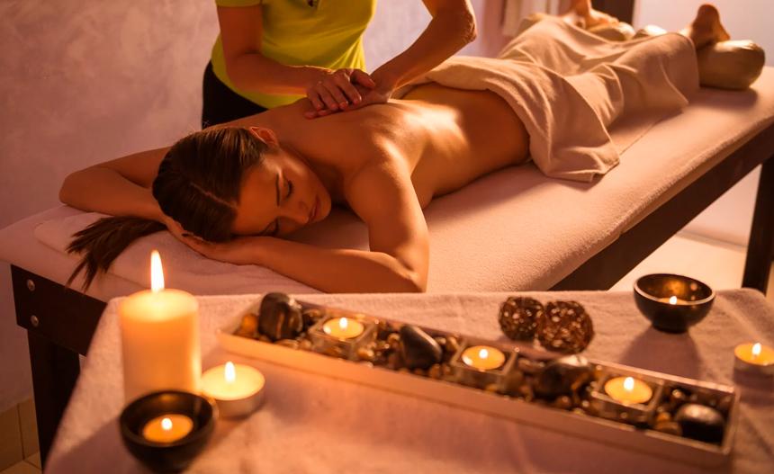 masaje relajante antiestrés
