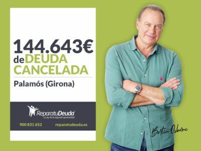 Repara tu Deuda cancela 144.643 € con deuda pública en Palamós con la Ley de la Segunda Oportunidad