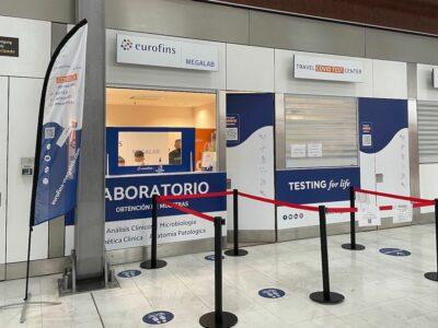 Eurofins Megalab se prepara para poder realizar hasta 12.000 test COVID-19 diarios en aeropuertos españoles
