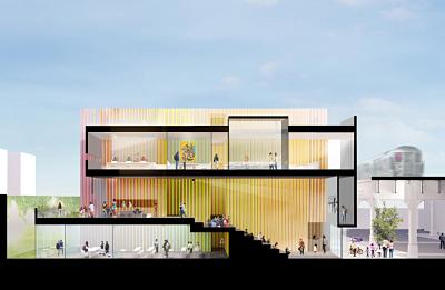 Nuria Heras, lidera el equipo de arquitectos que diseñó el que será el edificio más emblemático de Queens, Nueva York