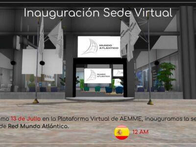 Red Mundo Atlántico inaugura su sede virtual para reforzar el ecosistema de negocios ubicuo