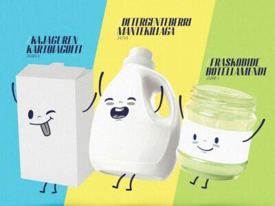 Ecovidrio, Ecoembes y Gobierno Vasco lanzan una campaña de reciclaje muy «de aquí»