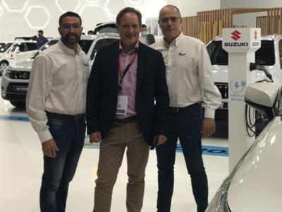 Juanma Cervantes, creador del Método SAVYT, se reúne con los fabricantes en el Automobile Barcelona