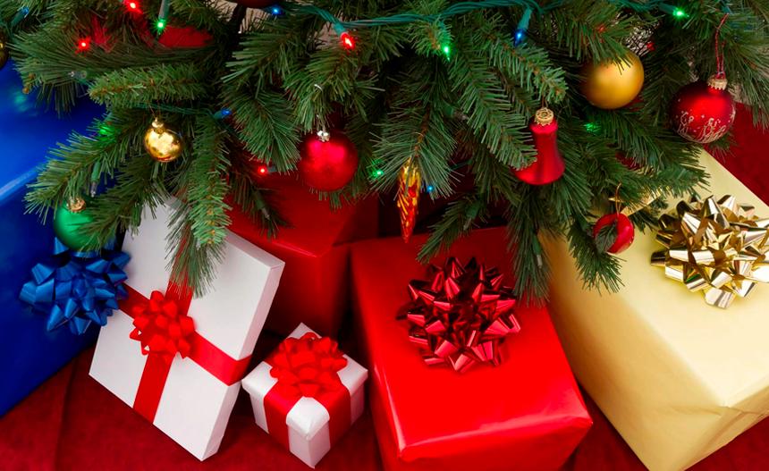 La tradición de los regalos corporativo de Navidad